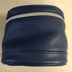 Blue travel/cosmetic bag